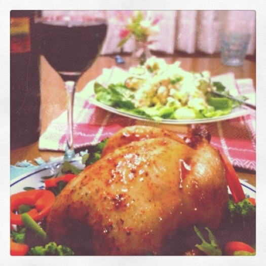A dreamy Christmas dinner served in South Korea when NSCZach wrote the fiction novel Heading East Looking West.